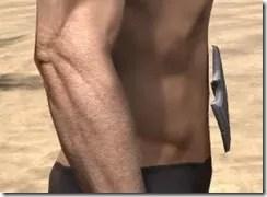 Ebonshadow Iron Girdle - Male Right