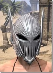 Ebonshadow Iron Helm - Female Front