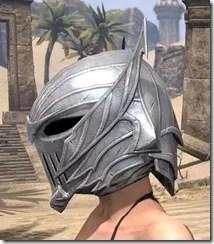 Ebonshadow Iron Helm - Female Side