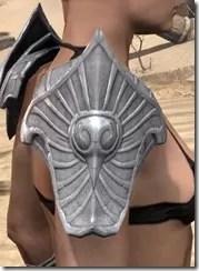 Ebonshadow Iron Pauldrons - Female Right