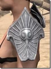 Ebonshadow Iron Pauldrons - Female Side