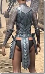 Glass Iron Cuirass - Female Rear