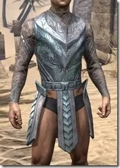 Glass Iron Cuirass - Male Front