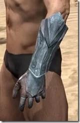 Glass Iron Gauntlets - Male Side