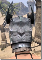Glass Iron Helm - Female Rear
