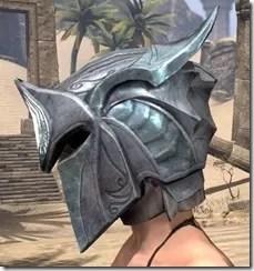 Glass Iron Helm - Female Side