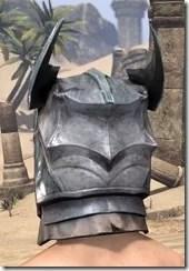 Glass Iron Helm - Male Rear