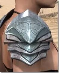 Glass Iron Pauldron - Female Right