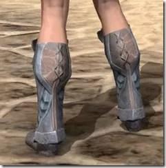 Glass Iron Sabatons - Female Rear