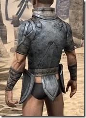 High Elf Iron Cuirass - Male Rear