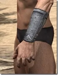 High Elf Iron Gauntlets - Male Side
