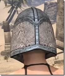 High Elf Iron Helm - Female Rear