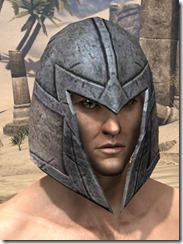High Elf Iron Helm - Male Front