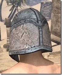 High Elf Iron Helm - Male Rear