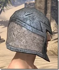 High Elf Iron Helm - Male Right