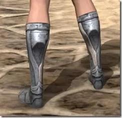 High Elf Iron Sabatonsn - Female Rear