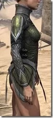 High Elf Orichalc Cuirass - Female Right