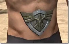 High Elf Orichalc Girdle - Male Front