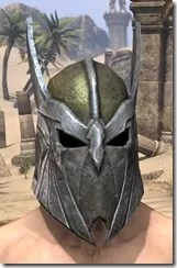 High Elf Orichalc Helm - Male Front