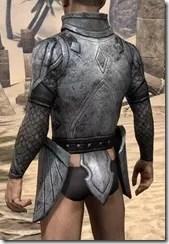 High Elf Steel Cuirass - Male Rear
