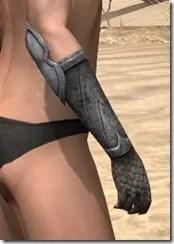 High Elf Steel Gauntlets - Female Right
