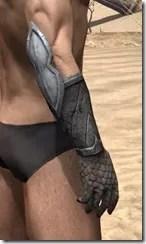 High Elf Steel Gauntlets - Male Right