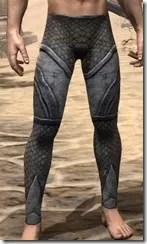 High Elf Steel Greaves - Male Front