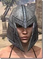 High Elf Steel Helm - Female Front