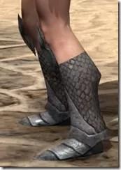 High Elf Steel Sabatons - Female Side