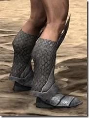 High Elf Steel Sabatons - Male Right