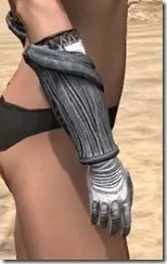 Hlaalu Iron Gauntlets - Female Right