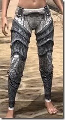 Hlaalu Iron Greaves - Female Front