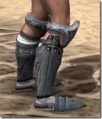 Hlaalu Iron Sabatons - Female Right