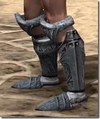 Hlaalu Iron Sabatons - Female Side