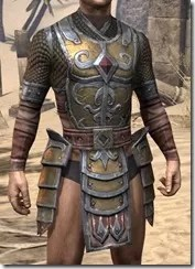 Imperial Dwarven Cuirass - Male Front