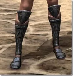 Imperial Dwarven Sabatons - Female Front