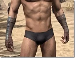 Imperial Steel Gauntlets - Male Front