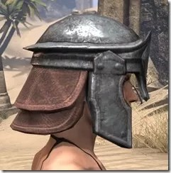 Imperial Steel Helm - Female Right
