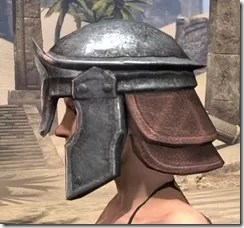 Imperial Steel Helm - Female Side