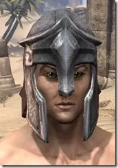 Imperial Steel Helm - Male Front