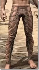 Khajiit Dwarven Greaves - Male Front