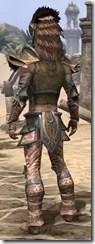 Khajiit Dwarven - Male Rear