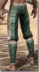 Khajiit Homespun Breeches - Male Rear