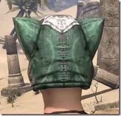 Khajiit Homespun Hat - Female Rear
