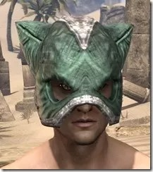 Khajiit Homespun Hat - Male Front