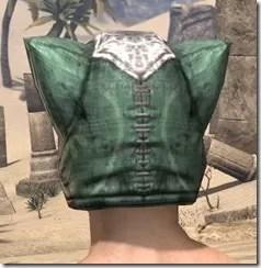 Khajiit Homespun Hat - Male Rear