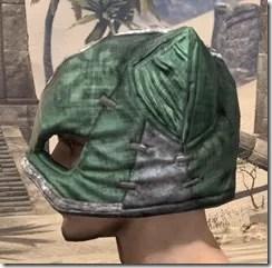 Khajiit Homespun Hat - Male Side