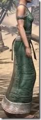 Khajiit Homespun Robe 1 - Female Right