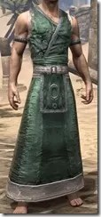 Khajiit Homespun Robe 1 - Male Front