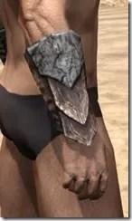 Khajiit Iron Gauntlets - Male Right